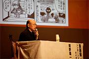 写真:漫画家・シンガーソングライター 岡野雄一氏